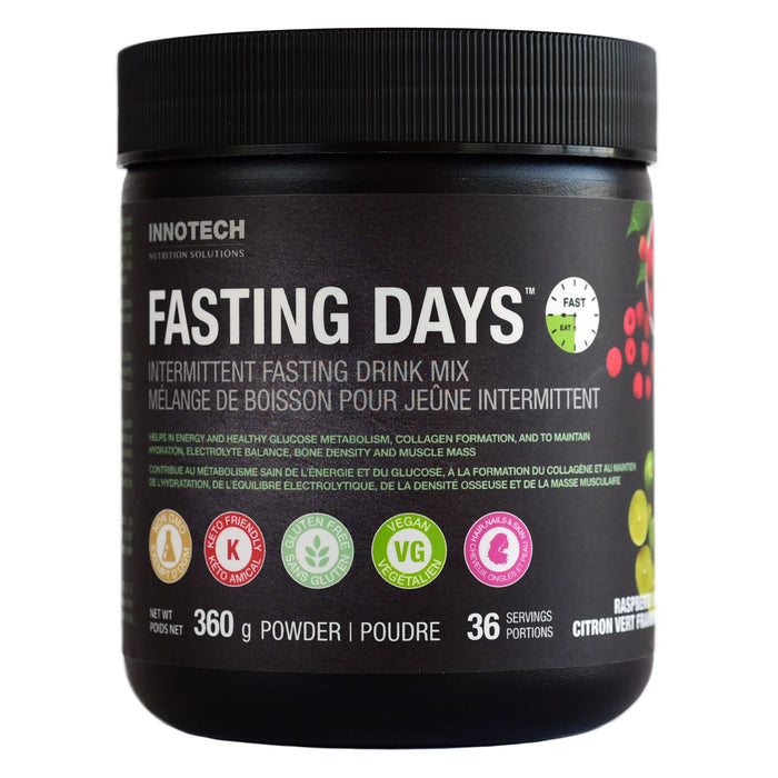 Innotech Fasting Days™ Intermittent Fasting Drink Mix Raspberry Lime