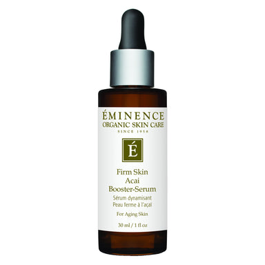 Dropper Bottle of Eminence Firm Skin Acai Booster-Serum 30 Milliliters
