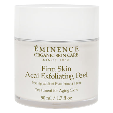 Jar of Firm Skin Acai Exfoliating Peel 50 Milliliters