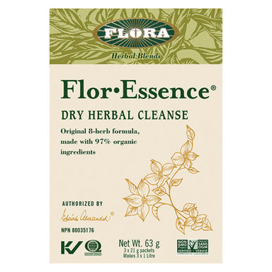 Flor-Essence Dry Herbal Cleanse Tea 63 Grams