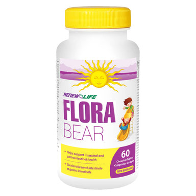 Bottle of Flora Bear 60 Chewables