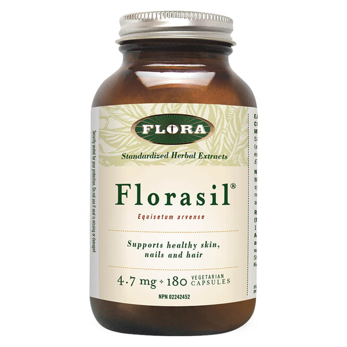 Bottle of Florasil 180 Vegetarian Capsules