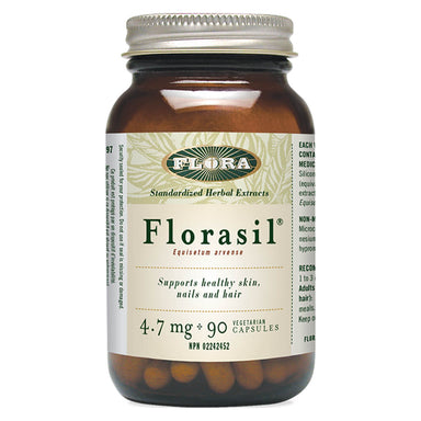 Bottle of Florasil 90 Vegetarian Capsules