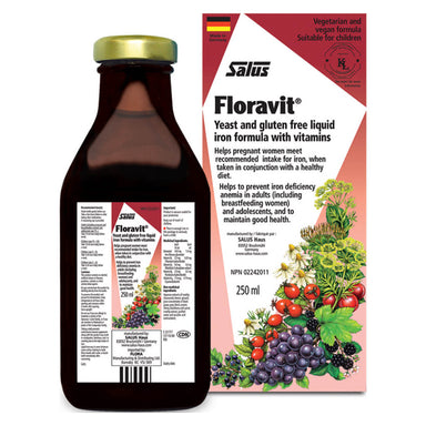 Box & Bottle of Floravit 250 Milliliters