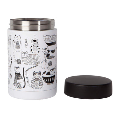 Now Designs Food Jar Large Purr Party Lid Beside