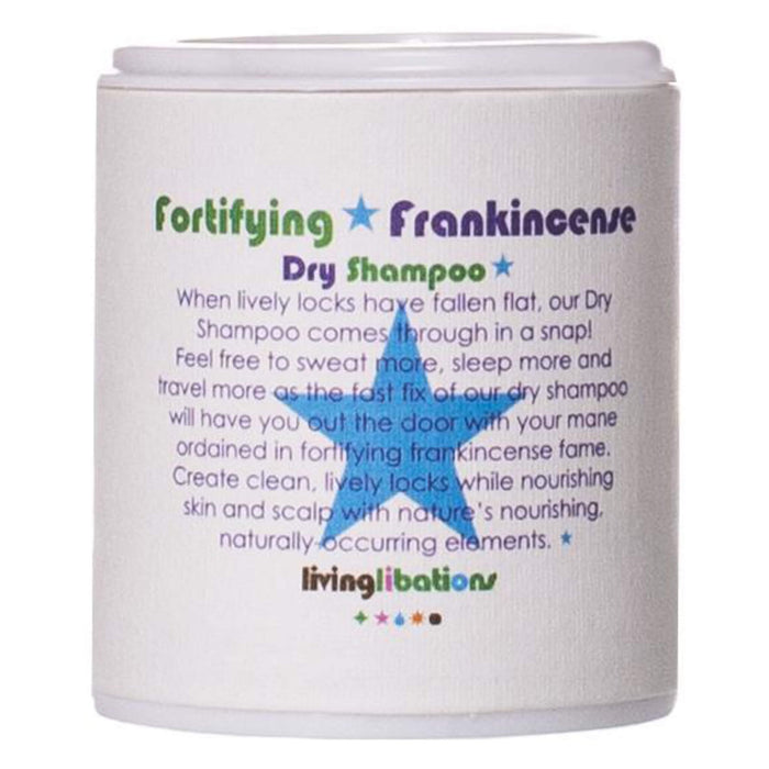 Container of Living Libations Fortifying Frankincense Dry Shampoo 1 Ounce