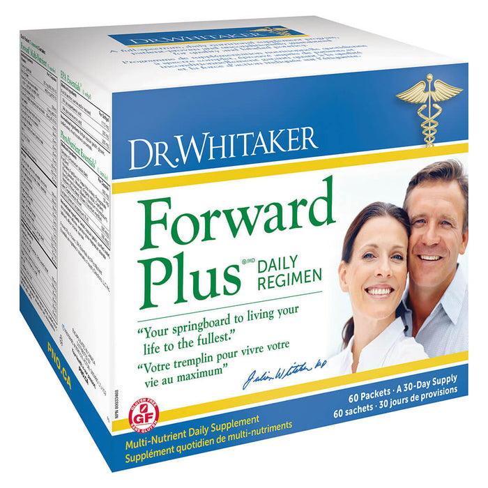 Box of Dr. Whitaker Forward Plus Daily Regimen 30-Day Supply