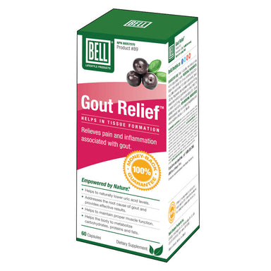 Box of Gout Relief™ 60 Capsules