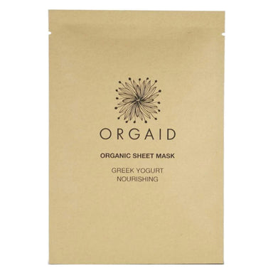 Orgaid Organic Sheet Mask Greek Yogurt & Nourishing