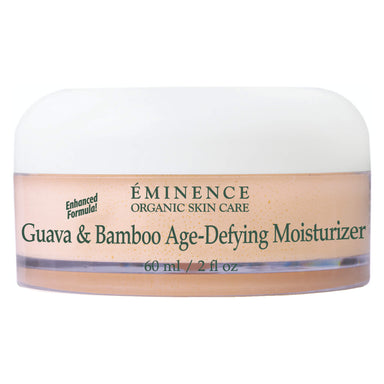 Jar of Eminence Guava & Bamboo Age-Defying Moisturizer 60 Milliliters