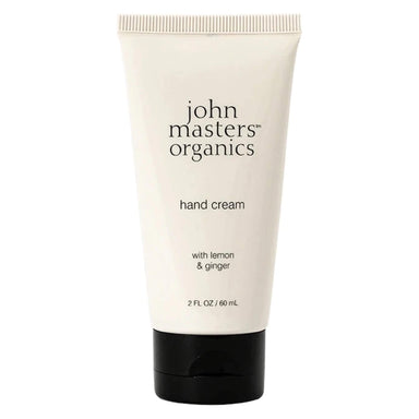 John Master's Organics - Hand Cream with Lemon & Ginger 2 Fluid Ounces 60 Milliliters | Optimum Health Vitamins, Canada