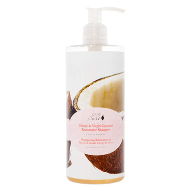 Pump Bottle of 100% Pure Honey & Virgin Coconut Shampoo 13 Ounces