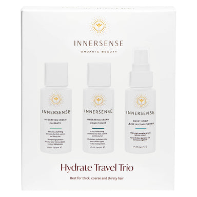 Box of Innersense Hydrate Travel Trio