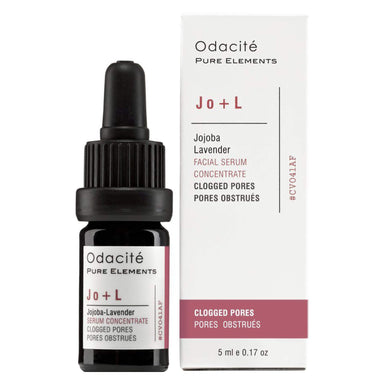Dropper Bottle of Odacite Jo + L Clogged Pores - Jojoba lavender Serum Concentrate 0.17 Ounces