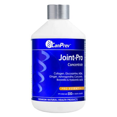 Bottle of CanPrev Joint-Pro Concentrate 500 Milliliters