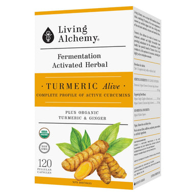 Box of Turmeric Alive 120 Capsules