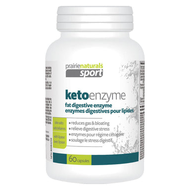 Bottle of Keto Enzyme 60 Vegetable Capsules