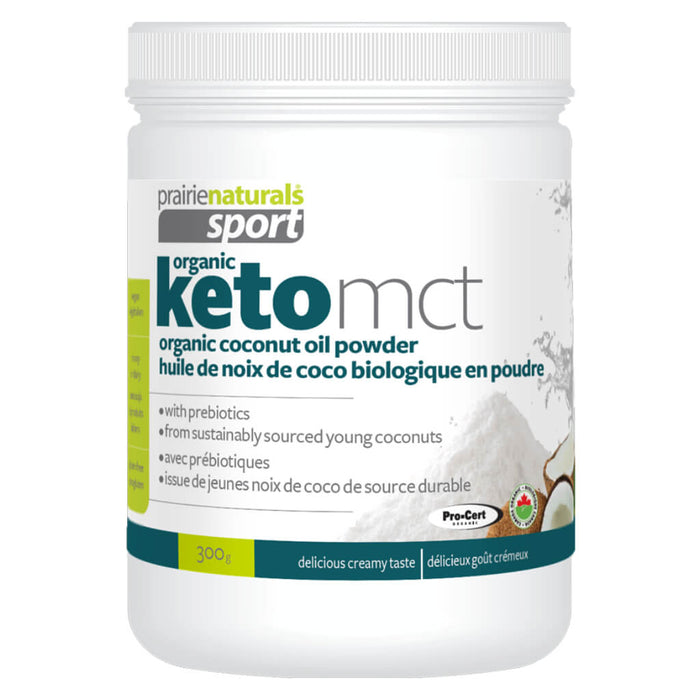 Container of Keto MCT Powder 300 Grams