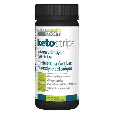 Bottle of Keto Strips 100 Pieces