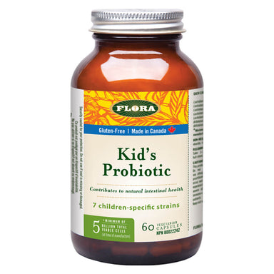 Bottle of Kid's Probiotic 60 Vegetarian Capsules