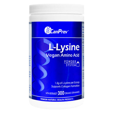 Bottle of L-Lysine Powder 300 Grams