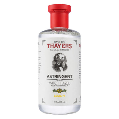 Bottle of Thayers Lemon Astringent 12 Ounces