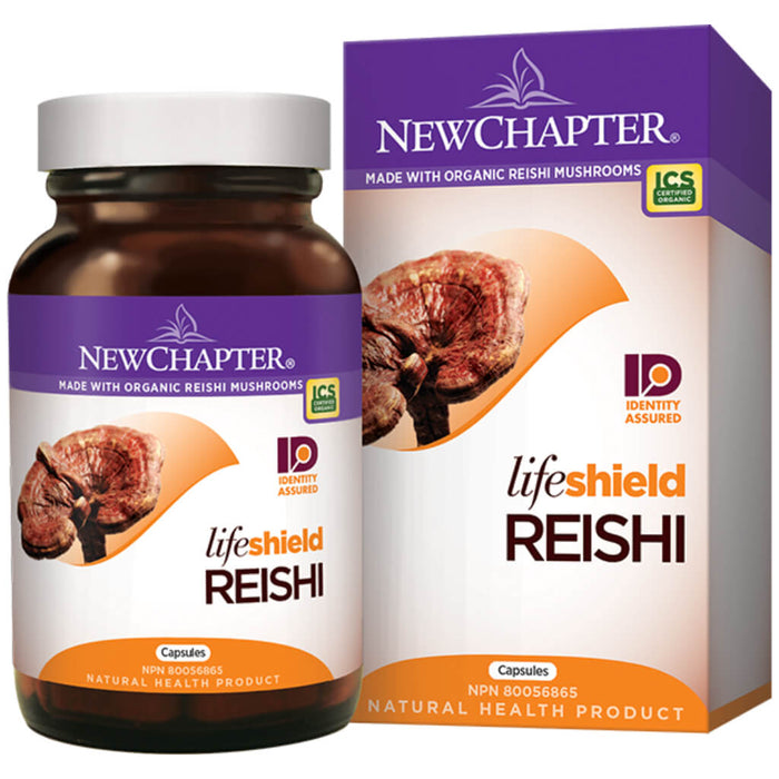 Container of LifeShield Reishi