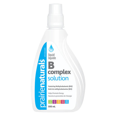 Bottle of Liquid B Complex Solution 500 Milliliters
