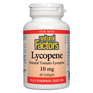 Bottle of Lycopene 10 mg Softgels
