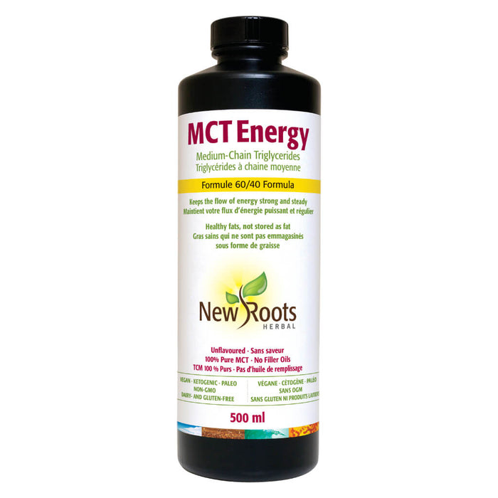 Bottle of MCT Energy 500 Milliliters