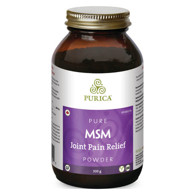 Bottle of MSM Powder 300 Grams