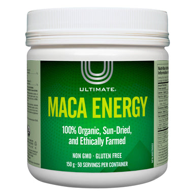 Container of Ultimate Maca Energy Powder 150 Grams
