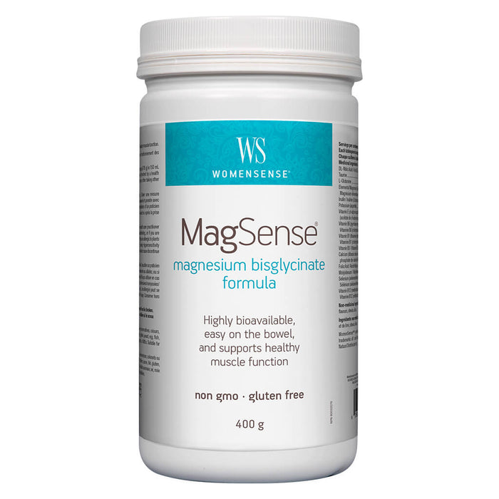 Container of WomenSense MagSense Unflavoured 400 Grams