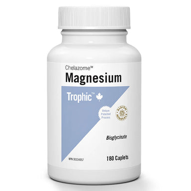 Bottle of Magnesium Chelazome™ 180 Caplets