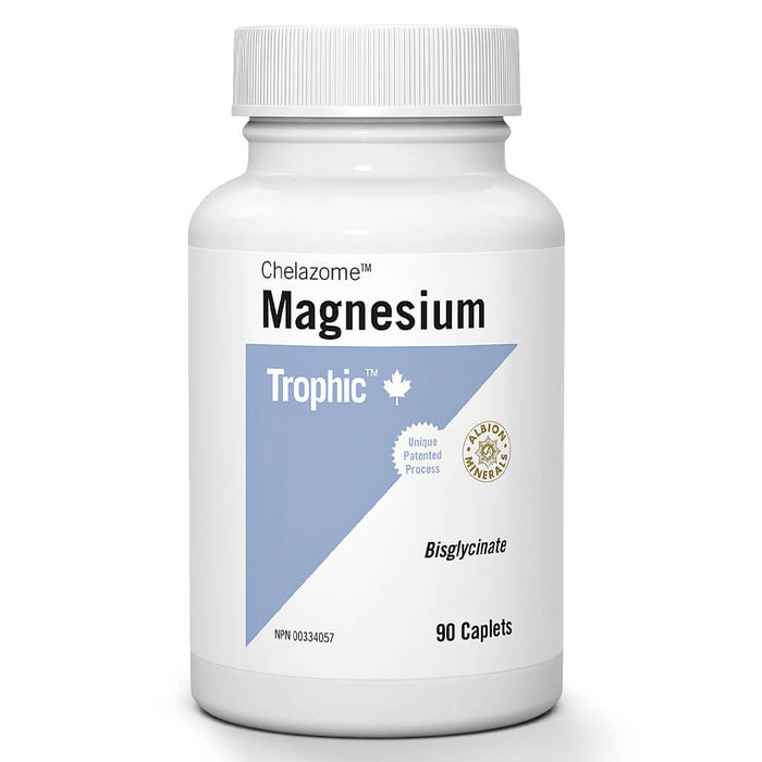 Bottle of Magnesium Chelazome™ 90 Caplets