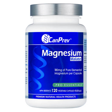 Bottle of Magnesium Malate 120 Vegetable Capsules