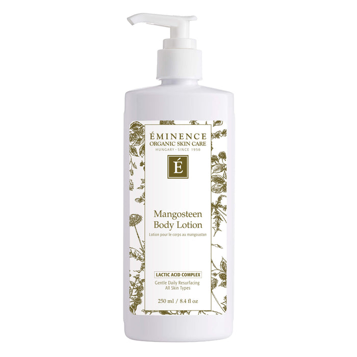 Pump Bottle of Eminence Mangosteen Body Lotion 250 Milliliters