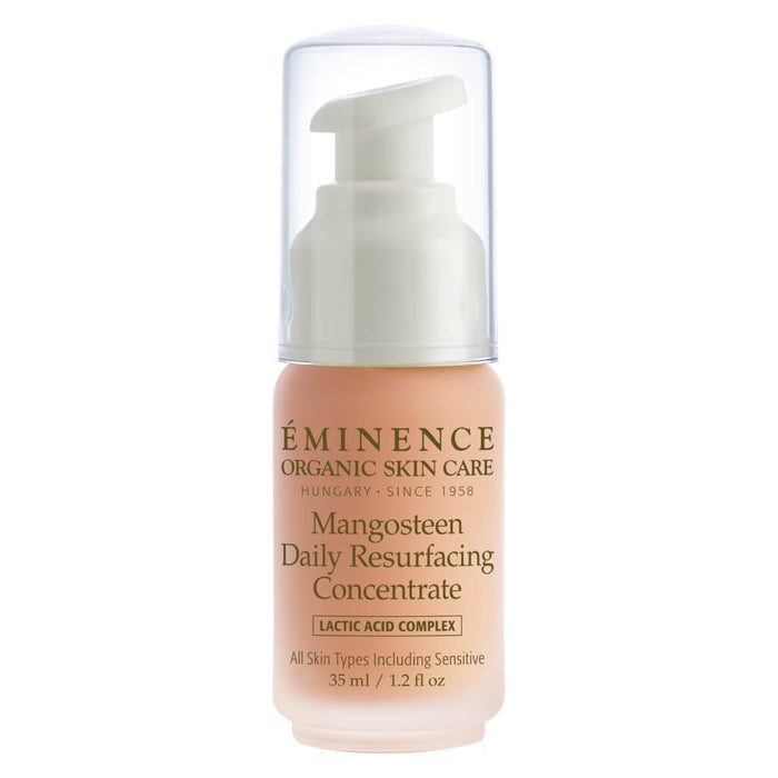 Pump Bottle of Eminence Mangosteen Daily Resurfacing Concentrate 35 Milliliters