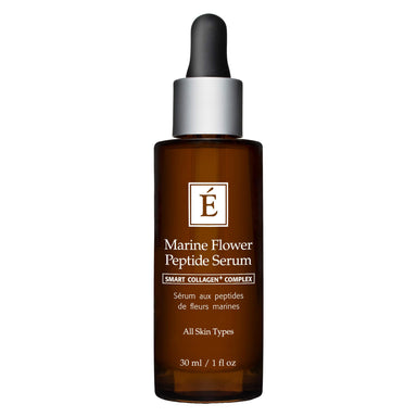 Dropper Bottle of Eminence Marine Flower Peptide Serum 1 Ounce