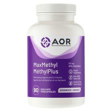 AOR - MaxMethyl 517 Milligrams 90 Vegi-Caps | Optimum Health Vitamins, Canada