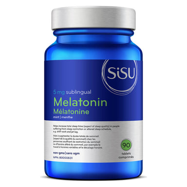 Bottle of Melatonin 5 mg 90 Tablets