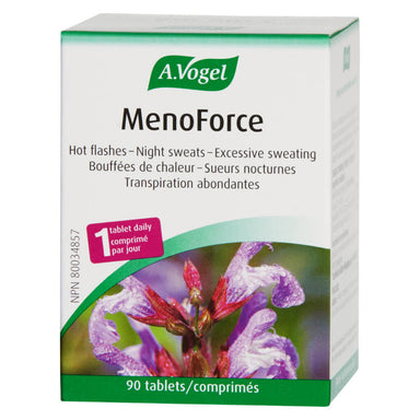 Box of A. Vogel MenoForce 90 Tablets