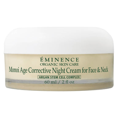 Jar of Eminence Monoi Age Corrective Night Cream for Face & Neck 60 Milliliters