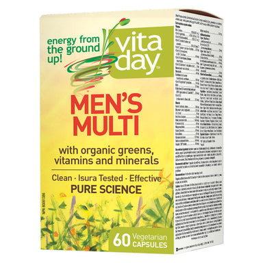 Box of Men's Multi 60 Vegetarian Capsules