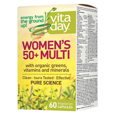Box of Women's 50+ Multi 60 Vegetarian Capsules