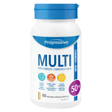 Bottle of Multi for Men 50+ 60 Vegetable Capsules