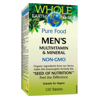 Box of Mens Multivitamin & Mineral 120 Tablets