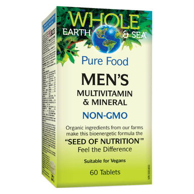 Box of Mens Multivitamin & Mineral 60 Tablets