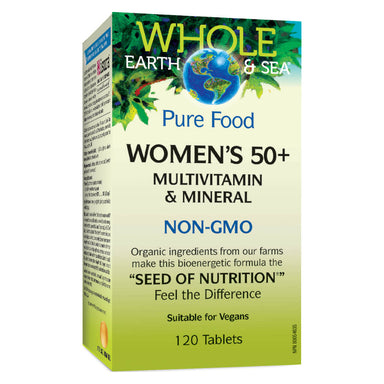 Box of Womens 50+ Multivitamin & Mineral 120 Tablets