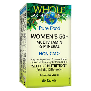 Box of Womens 50+ Multivitamin & Mineral 60 Tablets